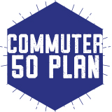 Commuter 50 – Purchase Using Dining Dollars (Spring 2018)